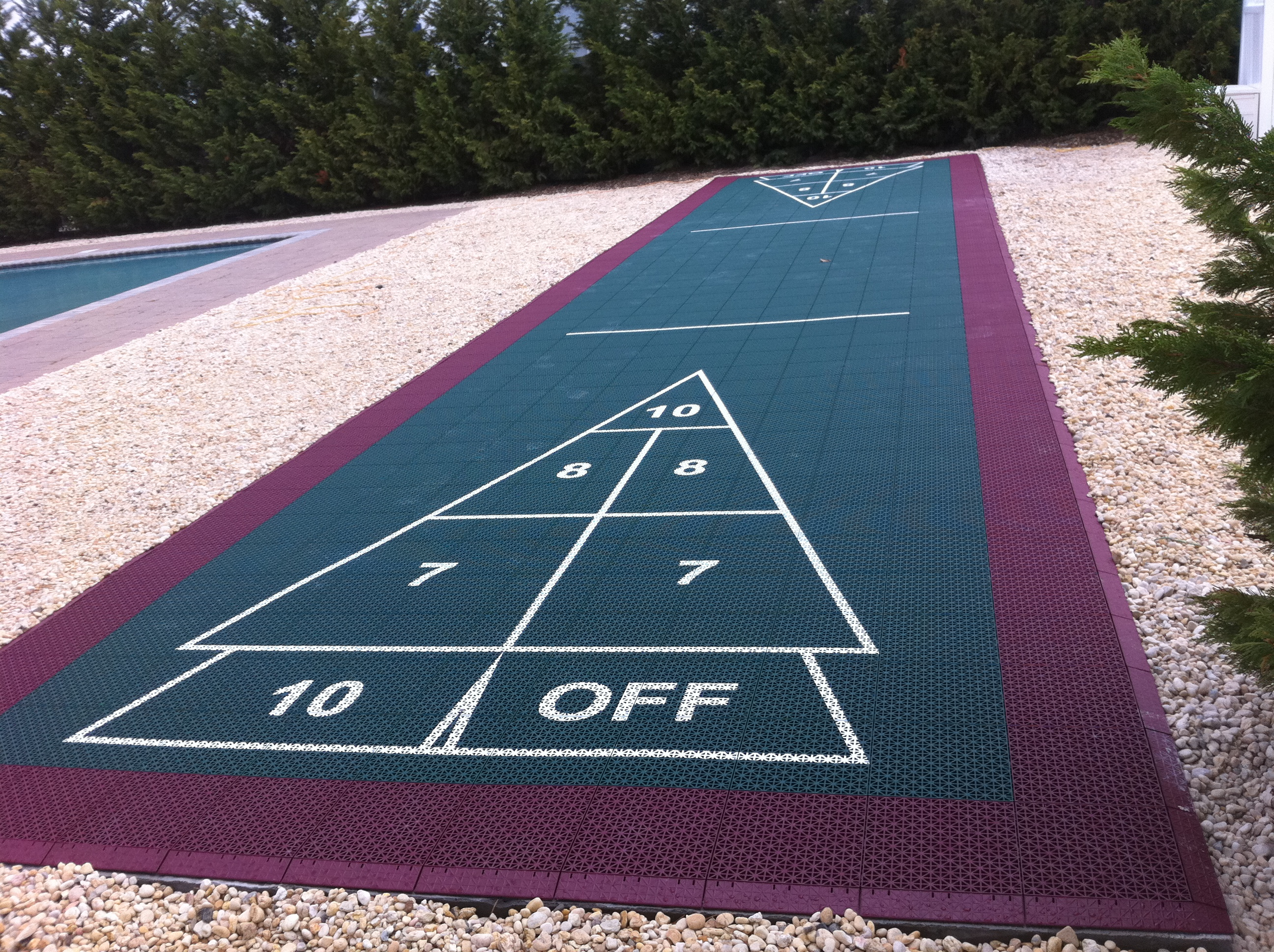 Shuffleboard Court Builder Outdoor Shuffleboard Other
