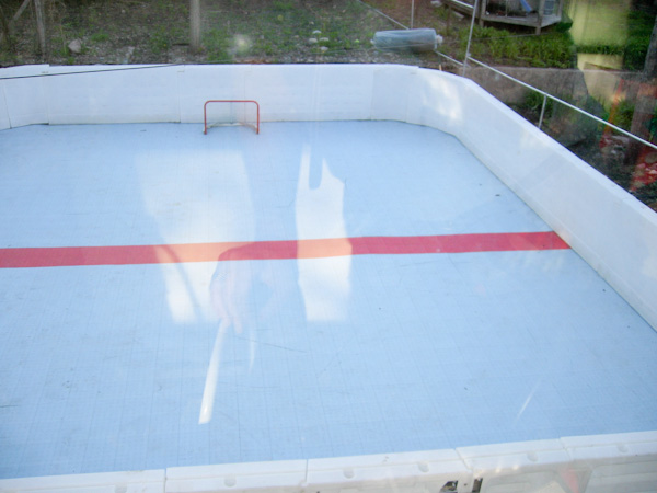 Backyard Ice Rink Installation : Synthetic Ice for Hockey Rinks Sale & Installation Free Quote
