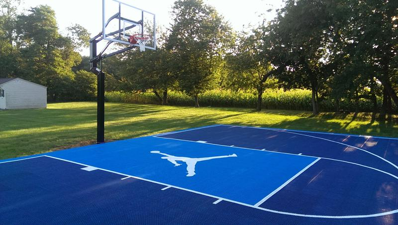 Basketball Court Modular Tile Builder Nj Ny Pa Md