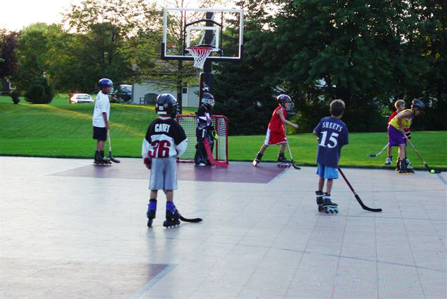 Roller Hockey Tiles All Colors We Install NJ NY PA DE MD - Backyard roller hockey rink